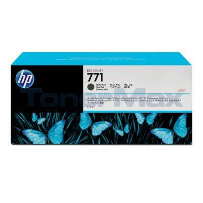 HP NO 771 DESIGNJET INK CART MATTE BLACK 775ML